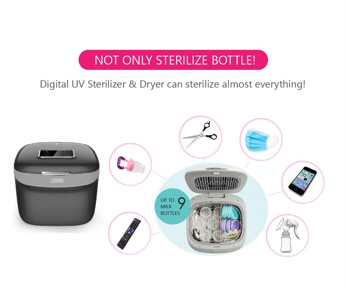 Lunavie Digital UV Sterilizer & Dryer (2 Years Warranty)